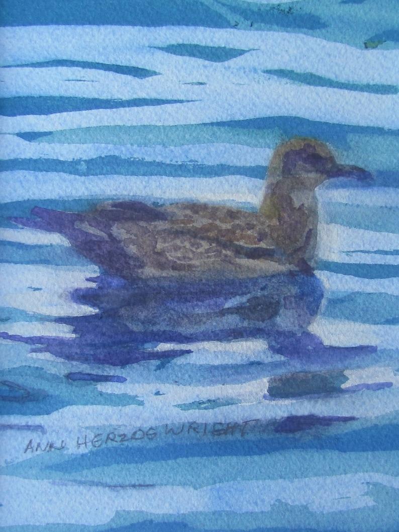 Gull in Mist image 0