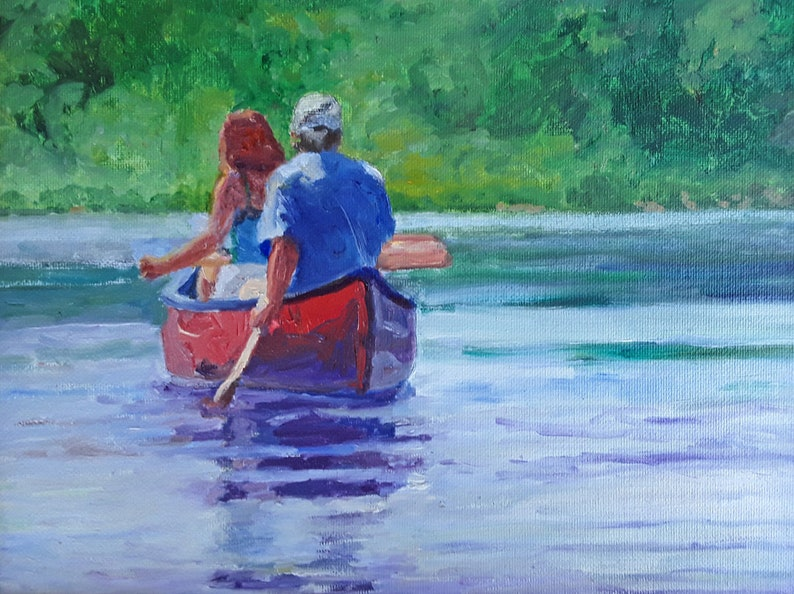 Canoeing on Quiet Water image 0
