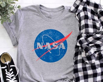 NASA Vintage Insignia Adult T-shirts NASA Shirt Space Science Youth Adult Baby sizes S-2XL