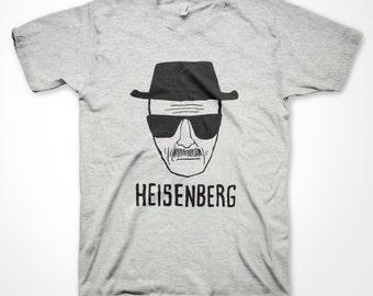 80912eddb1cf Heisenberg T-shirt Breaking Bad Fan Walter White sketch funny shirts