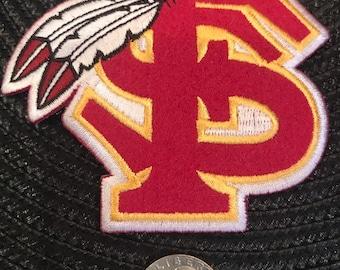 b3ad6f78 FSU Florida state university Seminoles Vintage Embroidered Iron On Patch 4