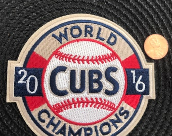 f1eb46581f6 Chicago Cubs Cubbies Embroidered Iron On Patch 4