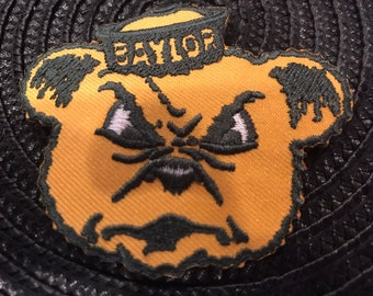 BAYLOR BEARS Vintage Embroidered On Your On Patch 3