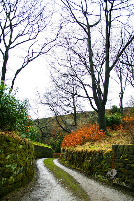 Items similar to Narrow Pathway ~ photography, english ...