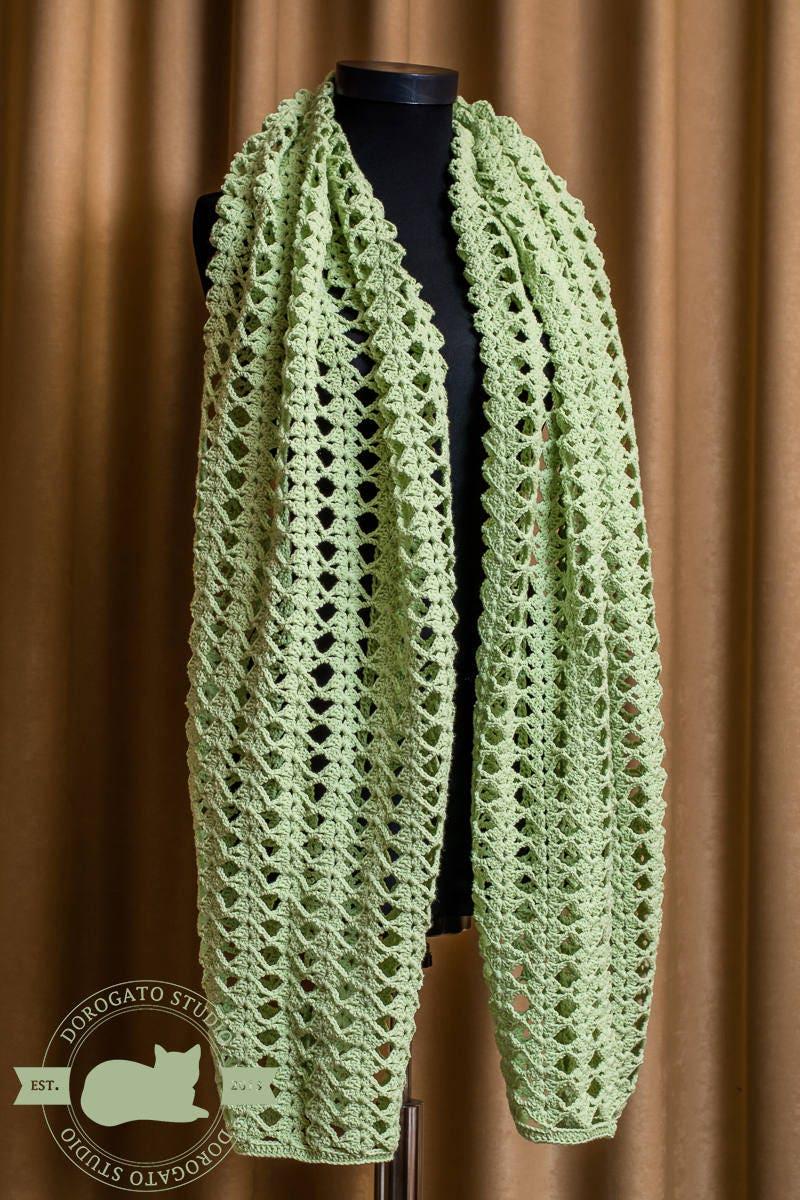 Easy Crochet Shawl Pattern, Beginner Crochet Pattern Shawl, Crochet ...