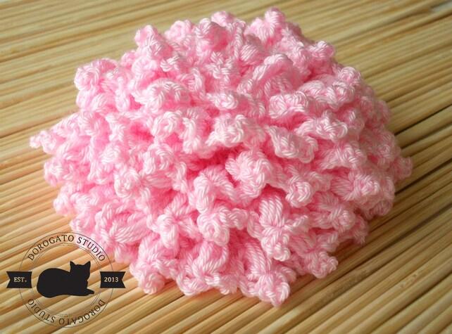 Easy Crochet Flower Pattern Crochet Brooch Pattern Rose Etsy