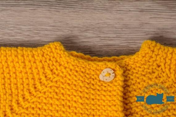 0417743ea Photo Tutorial Knit Pattern Knit Baby Cardigan Pattern Knit