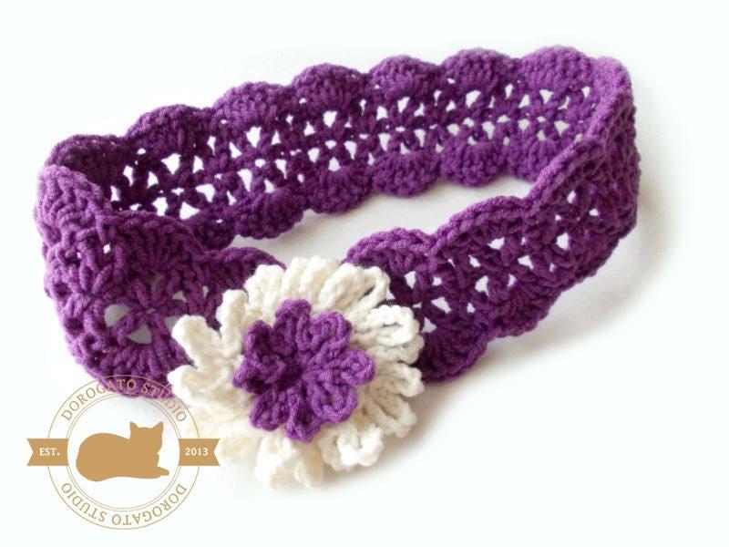Crochet Headband Pattern Etsy