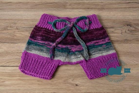 Knit Baby Shorts Pattern Knit Baby Pants Pattern Knit Pants Etsy
