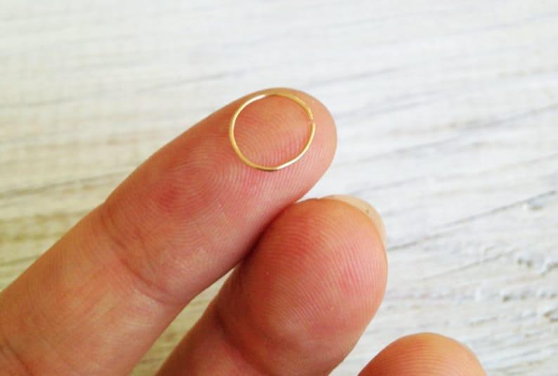Septum helix Septum Piercing helix hoop helix piercing Septum Ring Helix Earring gold hoop Cartilage Hoop simple plain Septum Rings