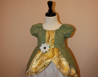Princess Tiana Inspired Dress