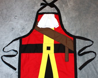 Captain Hook Inspired Dress Up Apron