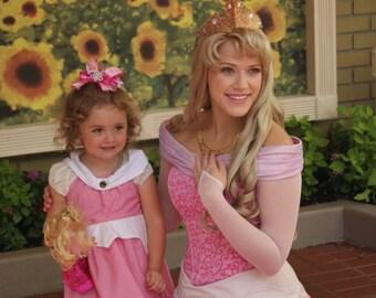 Sleeping Beauty Princess Aurora Dress Costume