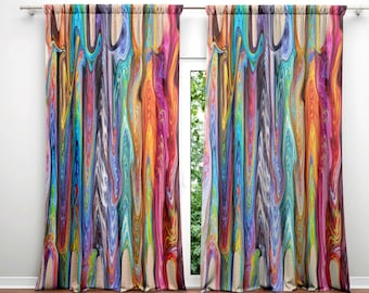Boho Curtains Etsy