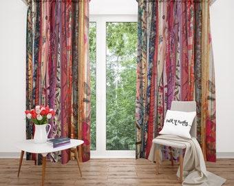 boho window treatments bohemian etsy boho chic window curtains gypsy spirit curtains