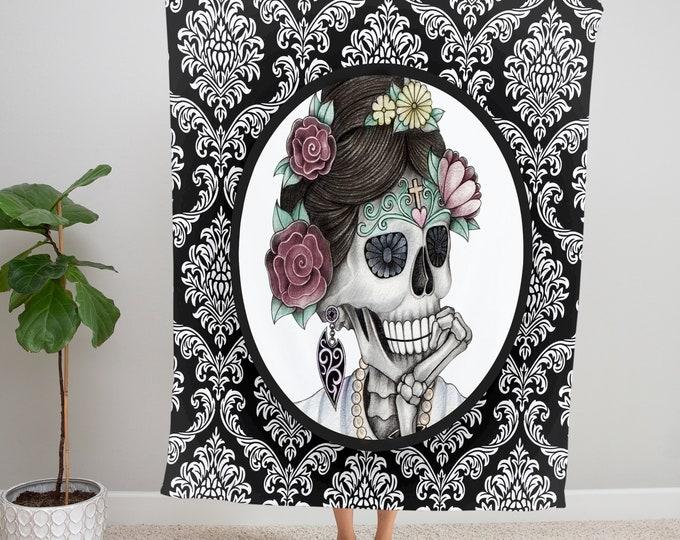 Sugar Skull Blanket