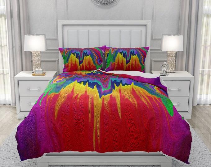 Wildish One Abstract Bedding Set