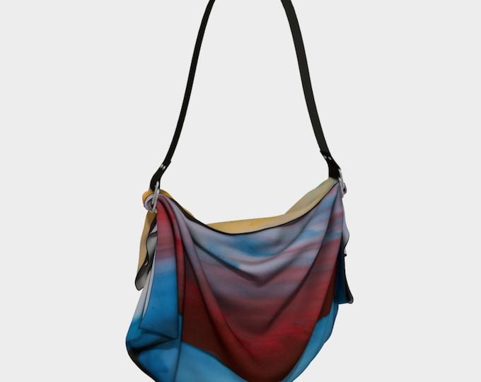 Boho Oragami Bag, Hippie Bag, Hobo Bag, Tie Dye Bag, Tote Bag, Shopping Bag