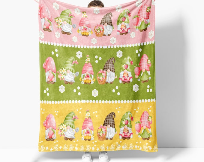 Darling Gnome Blanket