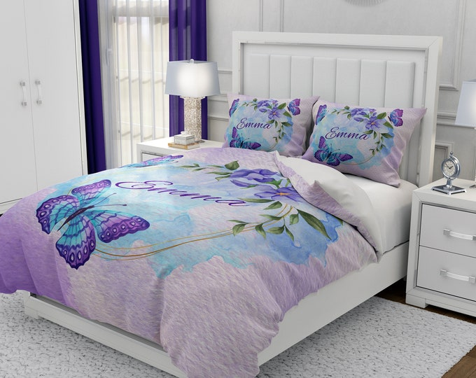 PersonalizedButterfly Bedding