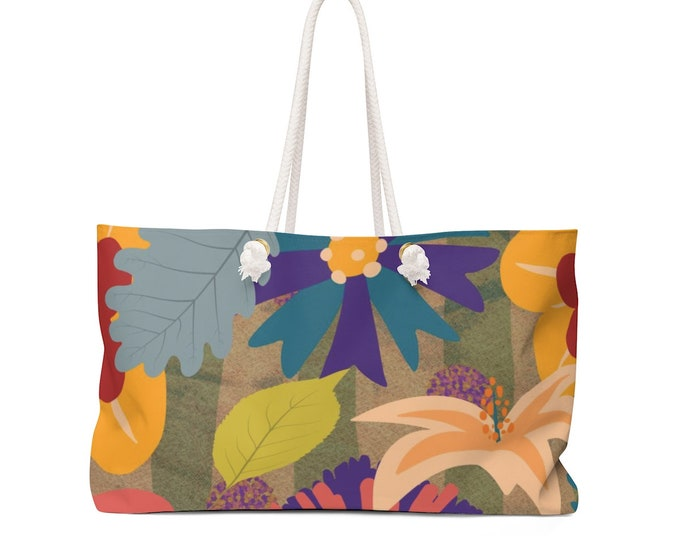 Hippie Bouquet Weekender Bag