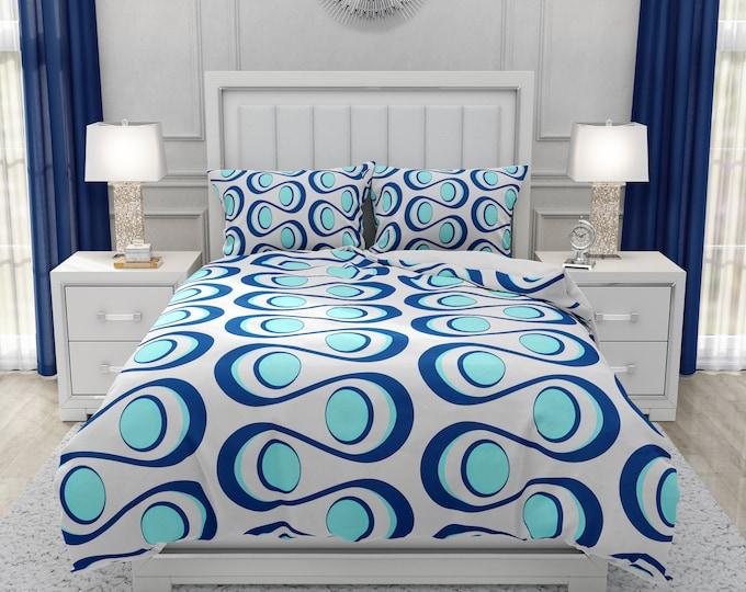 Modern Groove Comforter, Duvet Cover, Pillow Shams