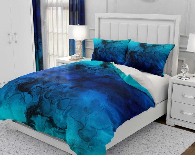 Deep Waters Comforter, Duvet Cover Pillow Shams