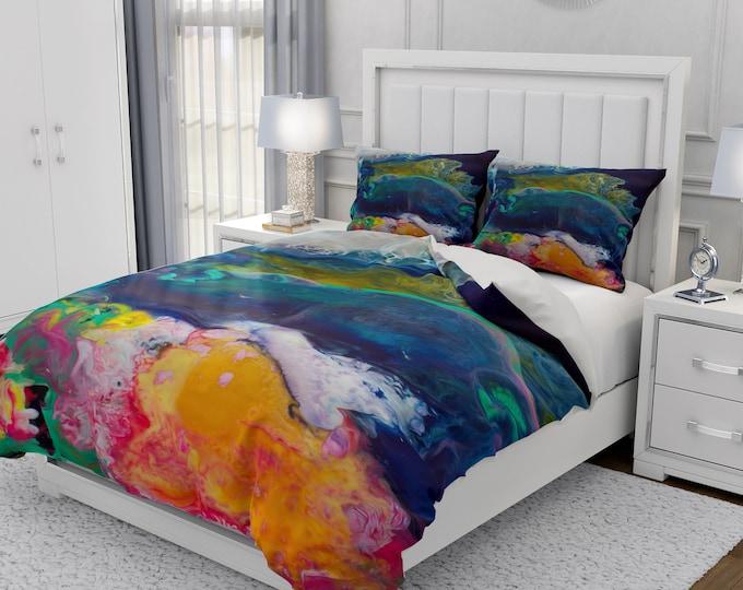 Thunder Abstract Bedding Set
