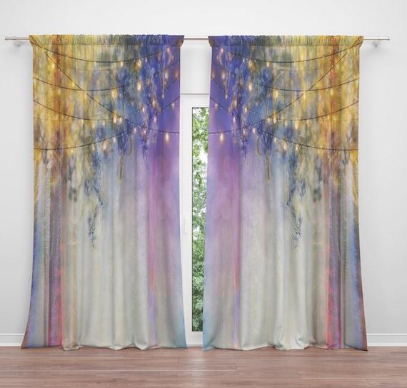 boho window treatments diy image lavender nights window curtains boho chic etsy