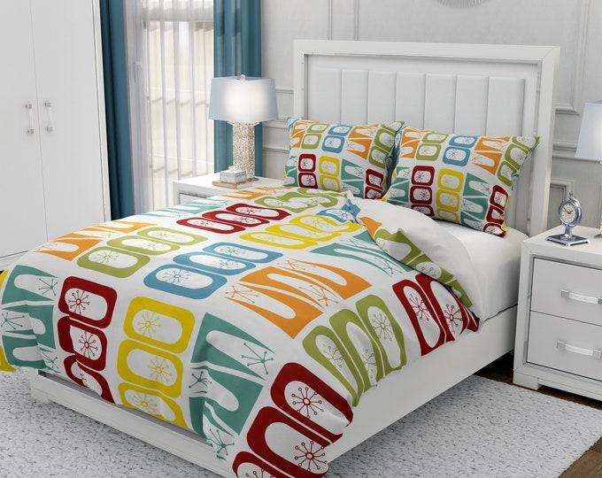 Mid Century Modern  Bedding Set