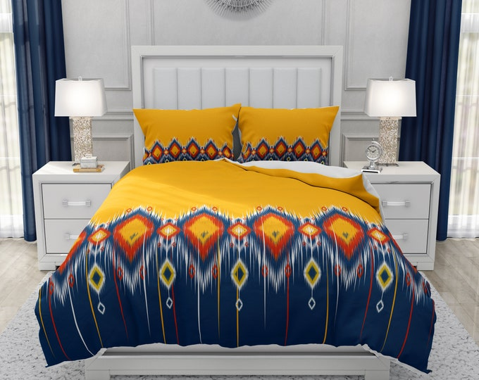 Southwest Yellow Sun  Bedding Set
