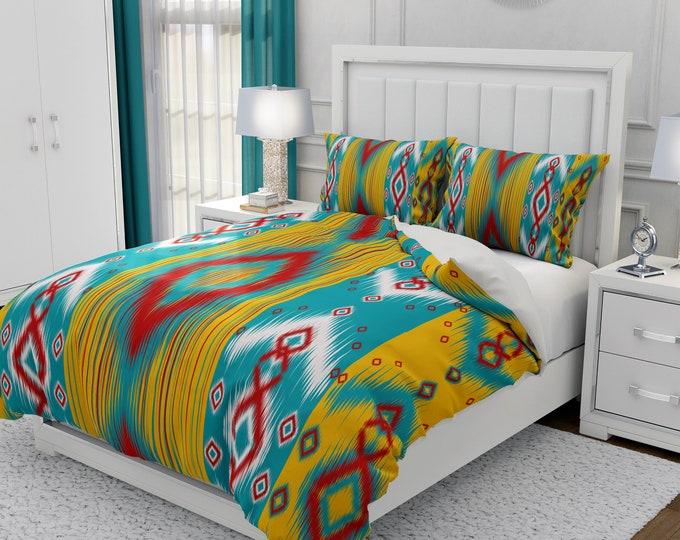 Southwest Turquoise Bedding Set