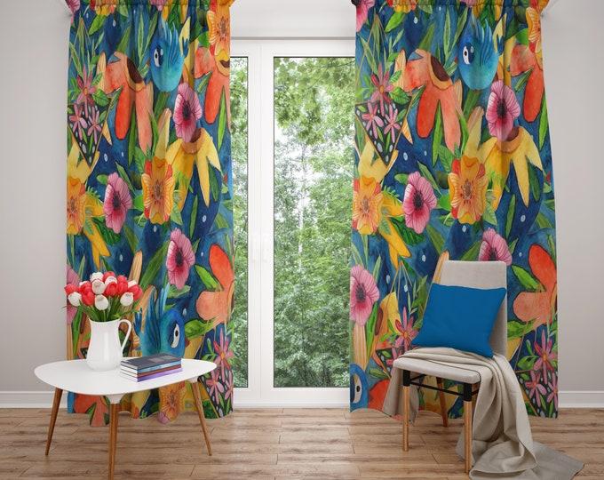 Whimsy Boho Window Curtains