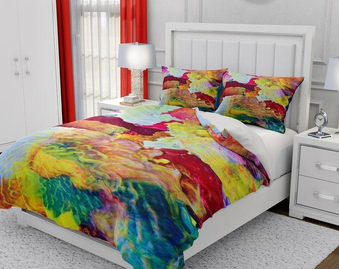 Pudding Abstract Bedding Set