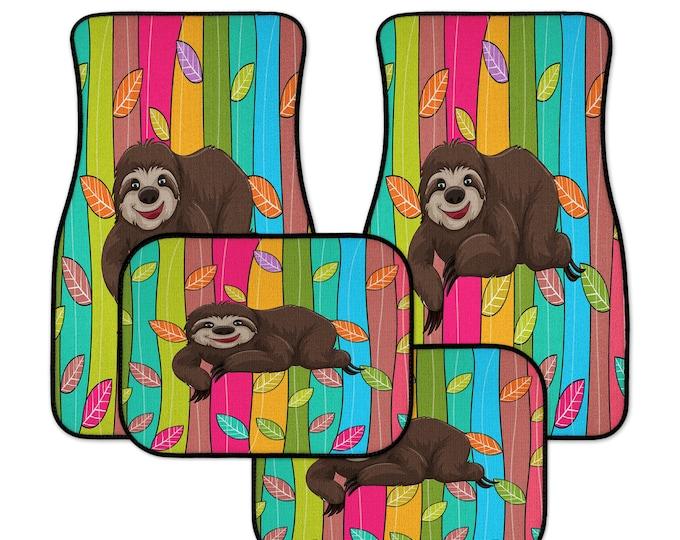 Sloth Car Mats