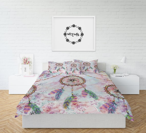 Dream Catcher Comforter Custom Dream Catcher Comforter Or Duvet Cover Set Twin Full Queen Etsy