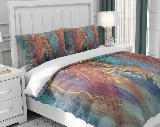October Wisp Comforter or Duvet Cover with Pillow Shams