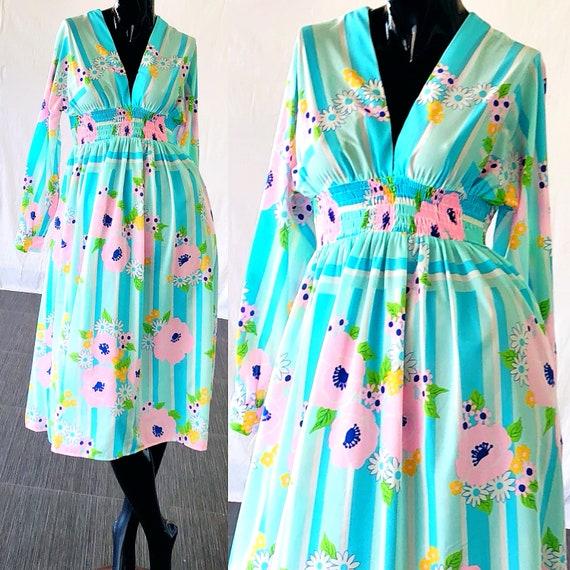 60s De De Oscar Mod Renta Dress La Dress Oscar Renta Psychedelic Dress La x1qqwFn0g