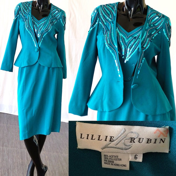Rubin Sequin Cocktail Peplum Small Suit Lillie Dress Party Suit Dress dtq646vwOy