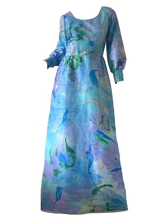 Vintage 70s Hawaiian Psychedelic Dress / Tori Rich