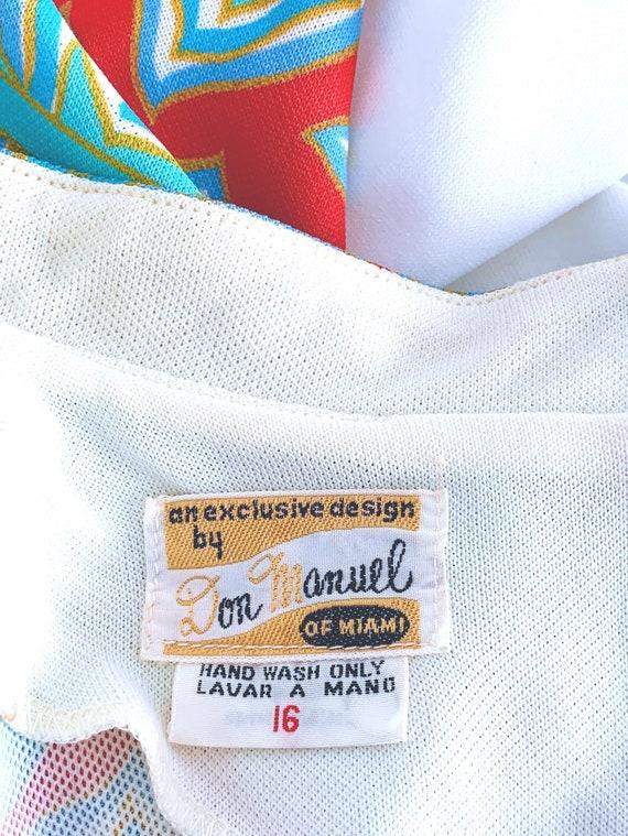60s Vintage Mod Asian Pantsuit, Don Manuel Of Mia… - image 6