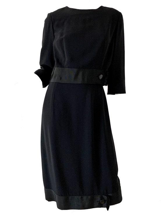 Vintage 50s Dress Suit / Maurice Rentner Silk Shea