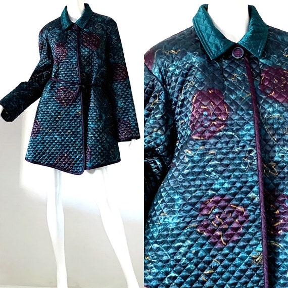 Jeanne Marc Jacket / 80s Avant Garde Kimono Coat /