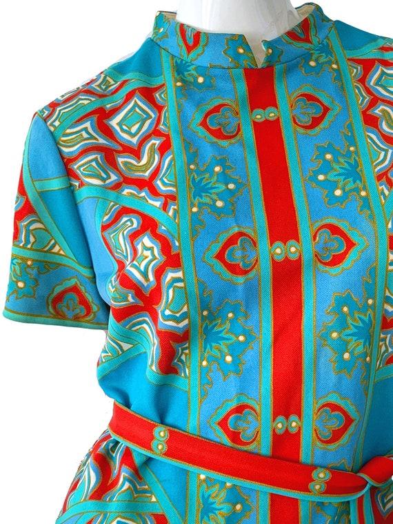 60s Vintage Mod Asian Pantsuit, Don Manuel Of Mia… - image 3