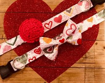 Valentines Heart Collar