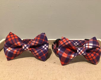 Matching Dog & Dad Bow Ties