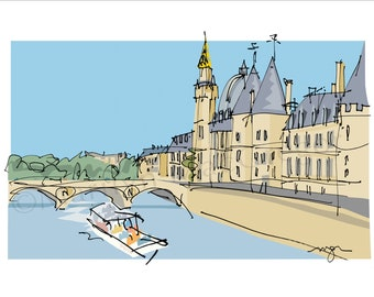 Paris: La Seine and La Cite