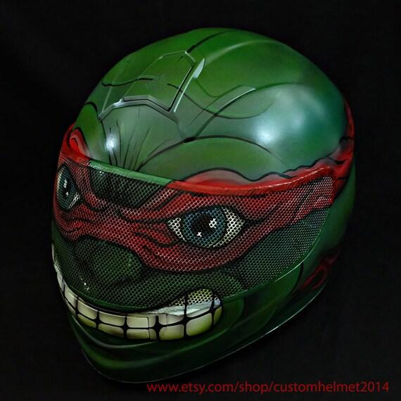 grande qualité détaillant acheter pas cher Casque de Ninja Turtles personnalisée, le casque de moto Custom, Superbike  casque moto casque, casque karting C74
