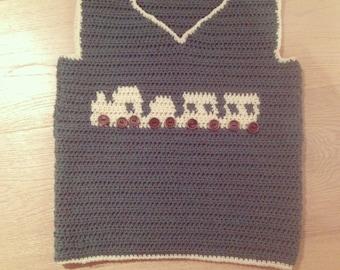Crochet Boys Choo Choo Train Tank Top Pattern *INSTANT DOWNLOAD*