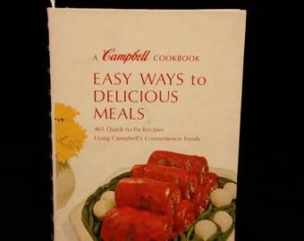 1967 Campbell cookbook